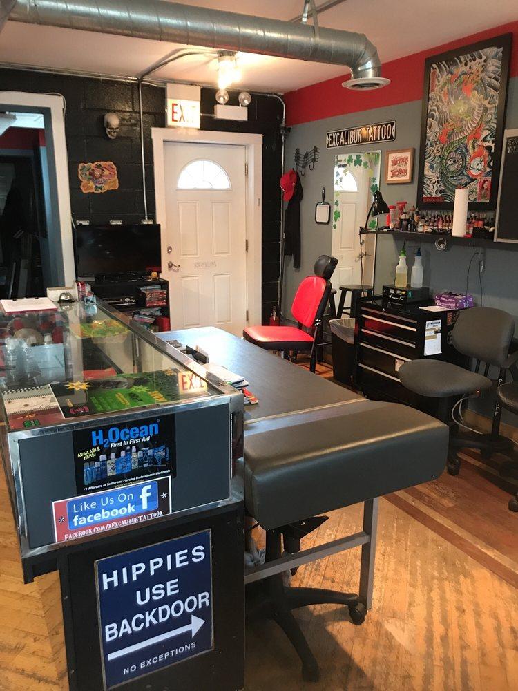 Excalibur Tattoo: 2913 S Harlem Ave, Berwyn, IL