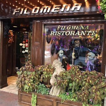 Filomena Restaurant Week Menu