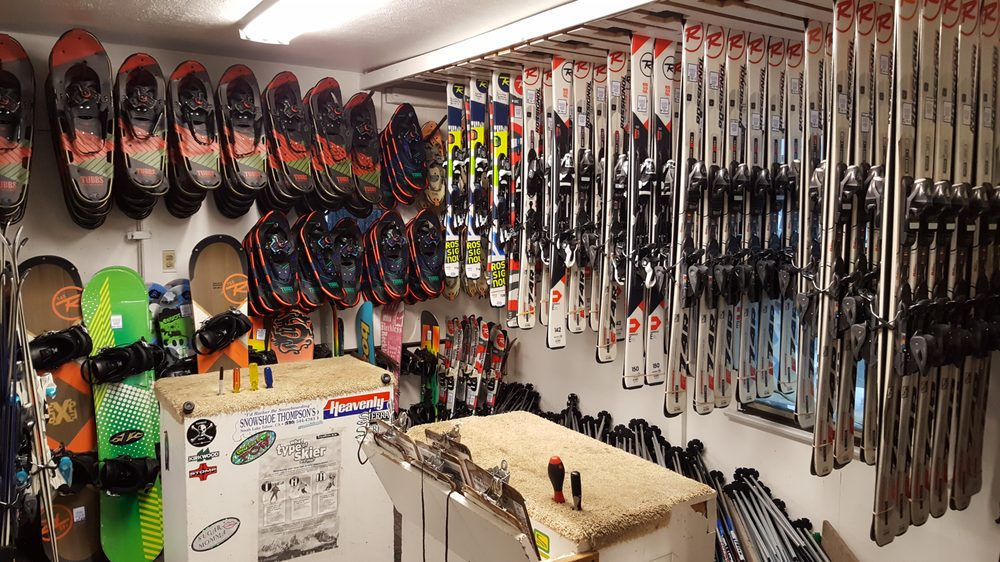 Snowshoe Thompson's Ski and Snowboard Rentals