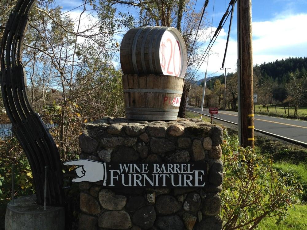 Wine Barrel Furniture Interior Design 3380 Hwy 128