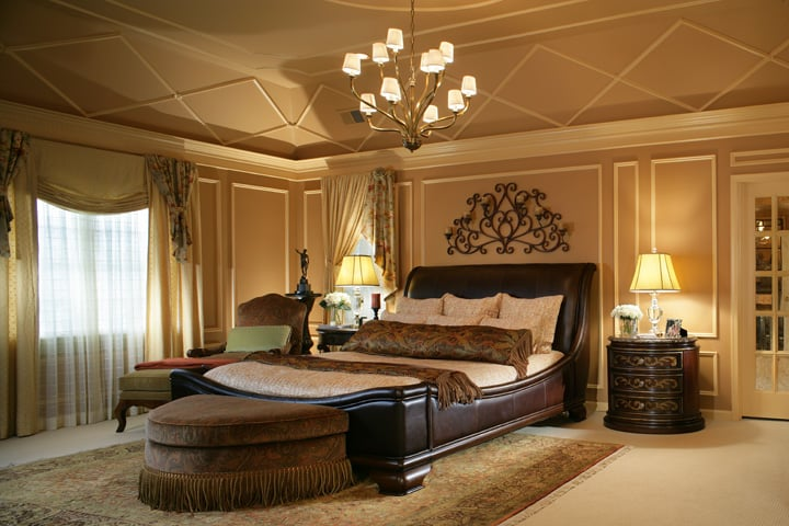 Master Br Renovation Wall Ceiling Molding As Well As Paint Colors Furnishi Add To Warmth Of