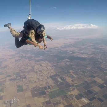Skydiving near chico ca