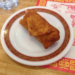... - Pittsburgh, PA, United States. Giant egg roll. Was very tasty