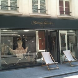 room service women 39 s clothing 52 rue argout etienne marcel montorgueil paris france. Black Bedroom Furniture Sets. Home Design Ideas