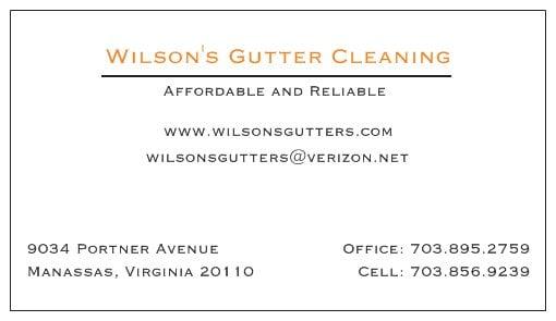 Wilson S Gutter Cleaning Gutter Services 9034 Portner