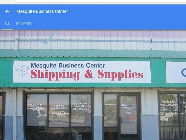 Mesquite Business Center: 424 W Riverside Rd, Mesquite, NV
