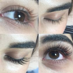 02c99d93a9c Photo of Lily's Lashes - Arcadia, CA, United States. Before and after