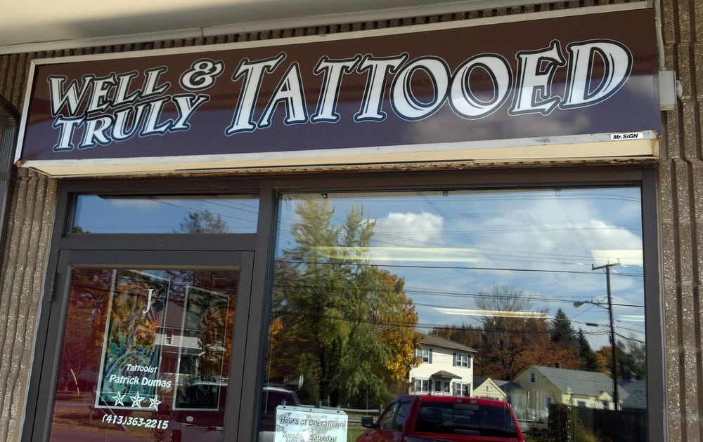 Well and Truly Tattooed: 525 Springfield St, Agawam, MA