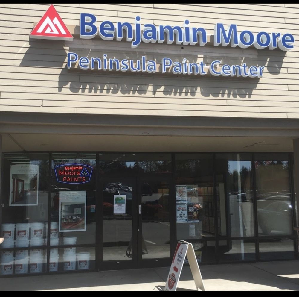 Peninsula Paint Centers: 5500 Olympic Dr NW, Gig Harbor, WA