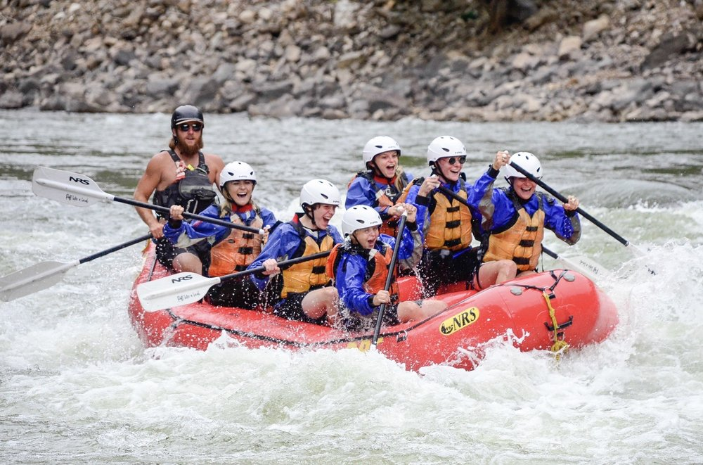 Social Spots from Defiance Rafting Company