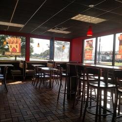Photo Of Burger King Saline Mi United States Bright Dining Area Overlooks