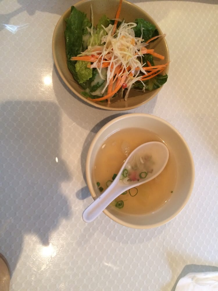 Side Soup And Salad For The Lunch Specials Yelp