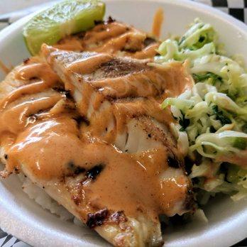 Tux chucks street food order food online 209 photos for Chucks fish menu
