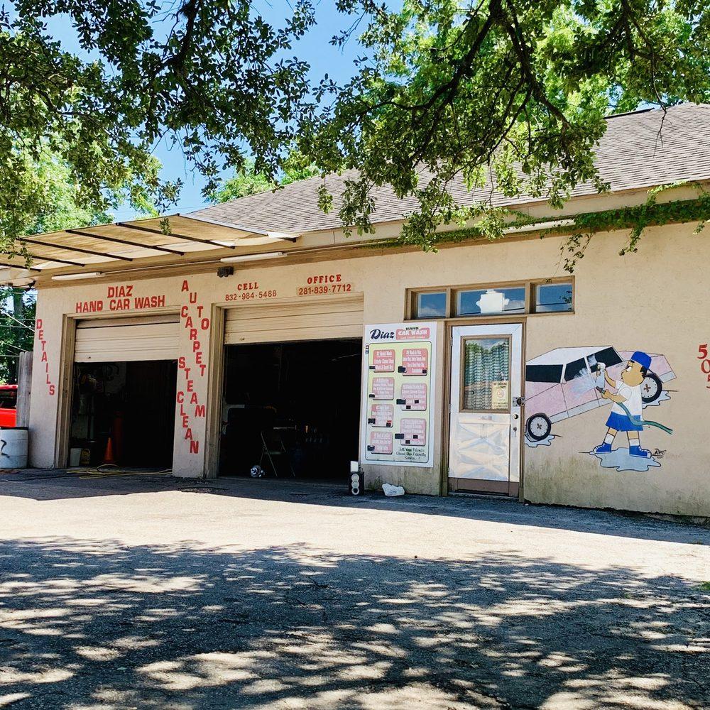 Diaz Hand Carwash: 505 E Texas Ave, Baytown, TX