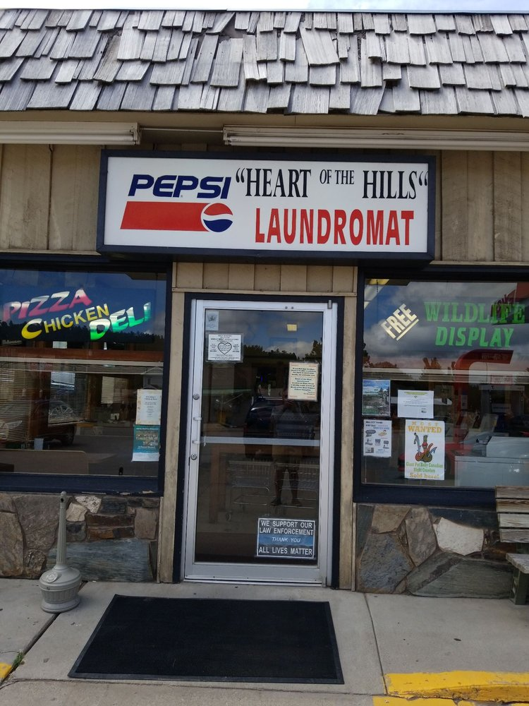 Heart Of The Hills Laundromat: 101 Main St, Hill City, SD