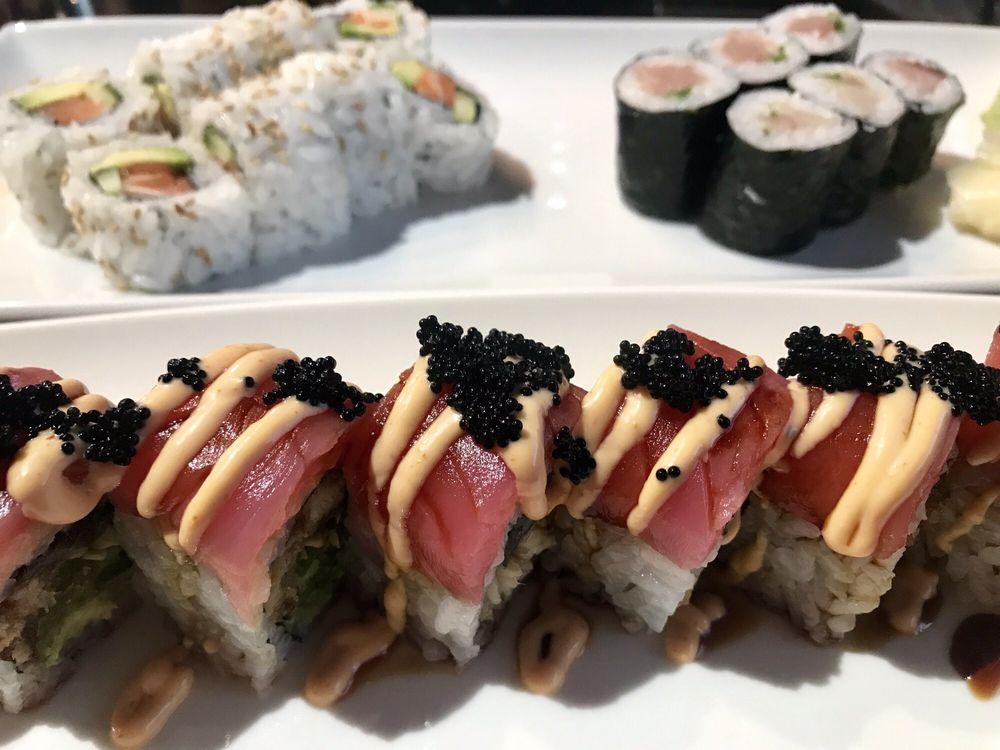 Food from Oishii Sushi
