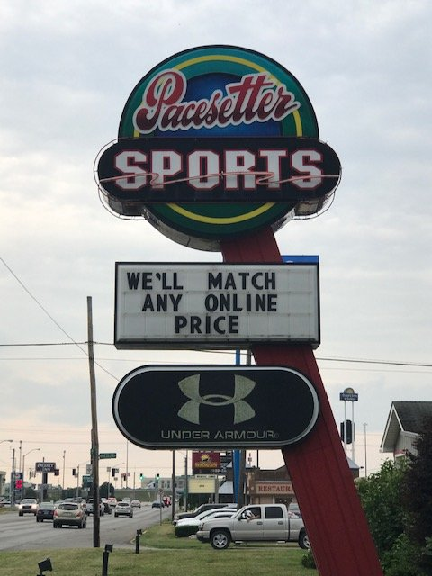 Pacesetter Sports: 2831 S 3rd St, Terre Haute, IN