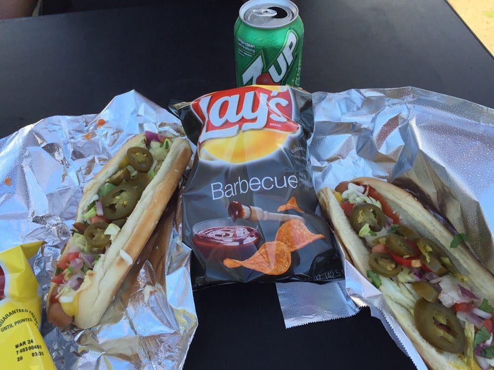Oaklander Hot Dog Chips Soda 450 Yelp
