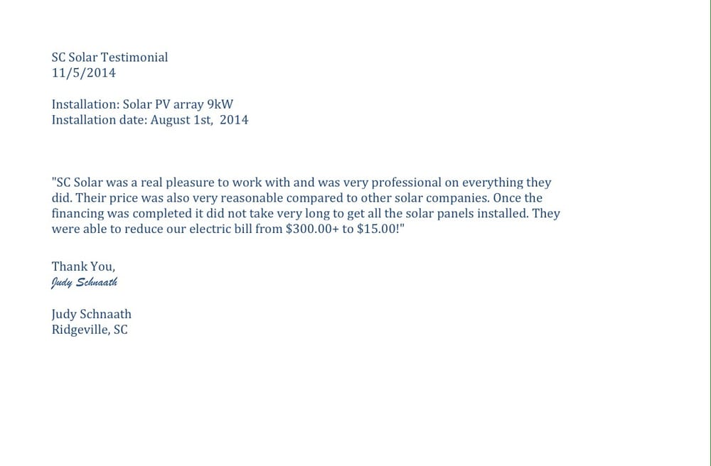 Endorsement Letter Check Out On WwwWwsolarenergyintCom  Yelp