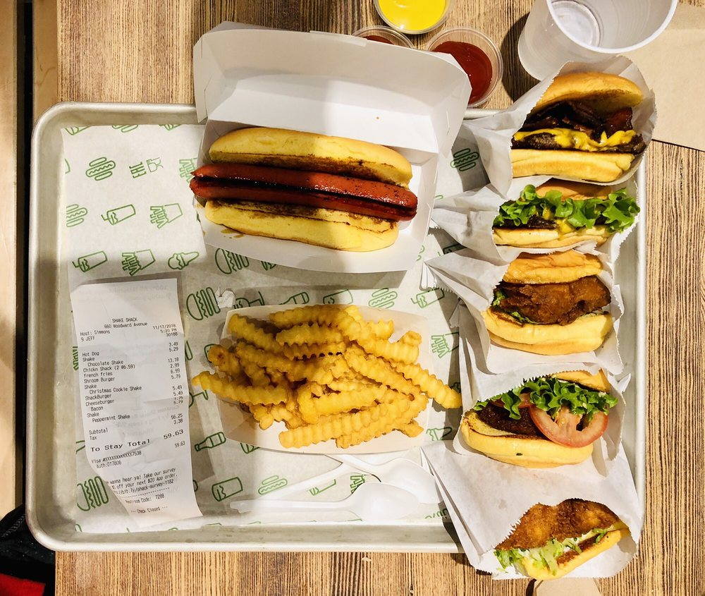 Shake Shack: 660 Woodward Ave, Detroit, MI