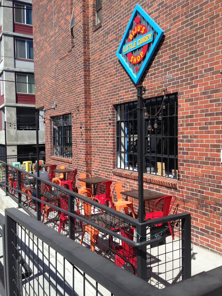 Biju's Little Curry Shop - Denver, CO, United States. Their outdoor patio