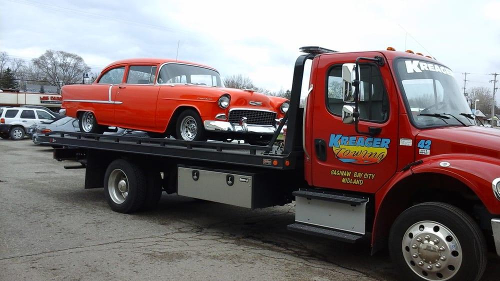 Kreager Towing: 205 Morton St, Bay City, MI