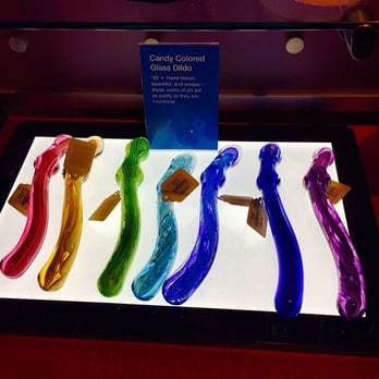 Photo of Babeland - Brooklyn, NY, United States. Pretty glass dildos!