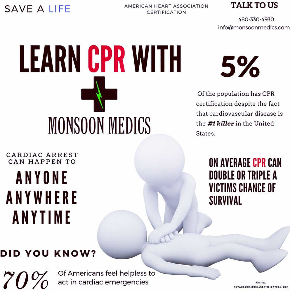 Monsoon medics cpr classes 13634 e williams field rd gilbert monsoon medics cpr classes 13634 e williams field rd gilbert az phone number yelp xflitez Gallery