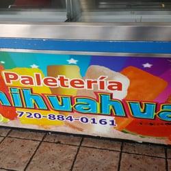 Paleteria Chihuahua Ice Cream Frozen Yogurt 3701 W 1st Ave