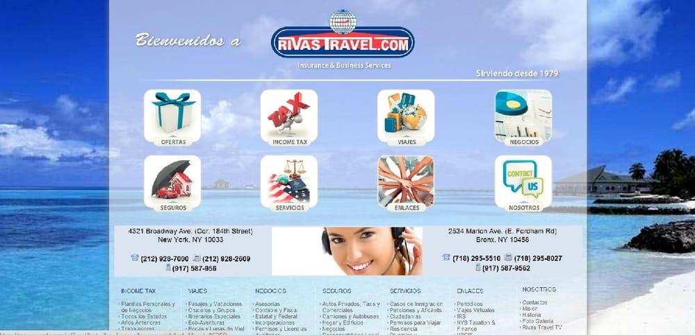 Rivas Travel & Multi Services: 4321 Broadway, New York, NY
