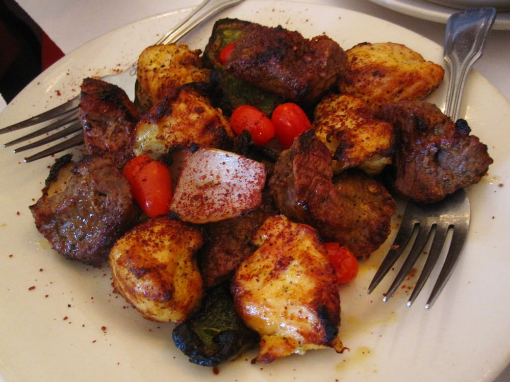 Chicken beef kabob combo yelp for Afghan cuisine restaurant
