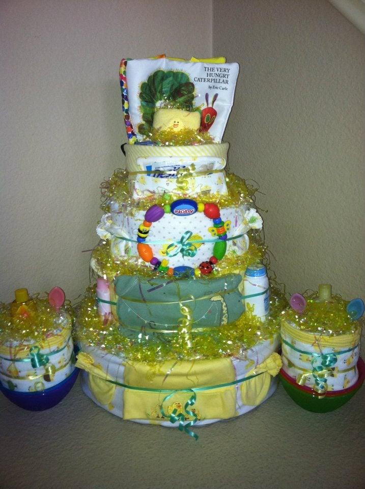 Baby Diaper Cakes San Diego