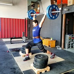 Rino becomes a CrossFitter