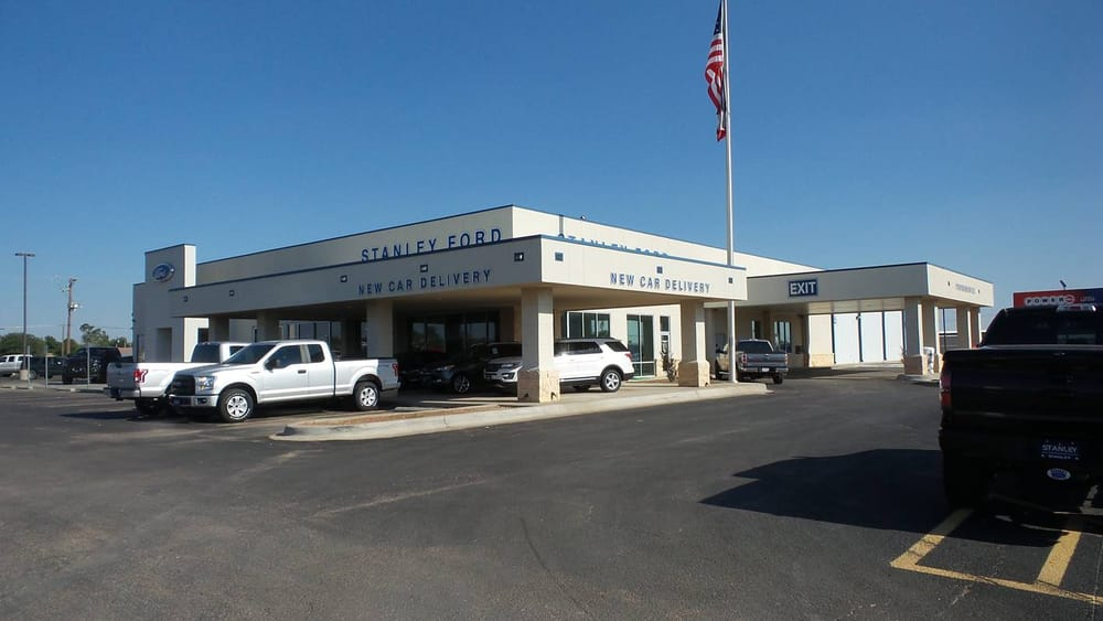 Stanley Ford Car Dealers 1700 N Highway 385 Andrews Tx Phone
