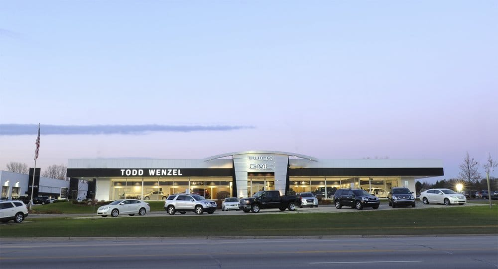 Todd Wenzel Gmc >> Todd Wenzel Buick Gmc Is Located On 28th Street Just West