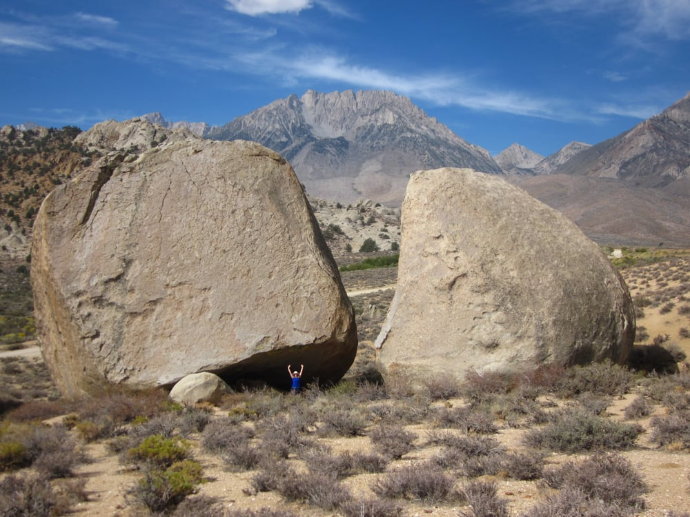 Peabody Boulders: Buttermilk Rd, Bishop, CA