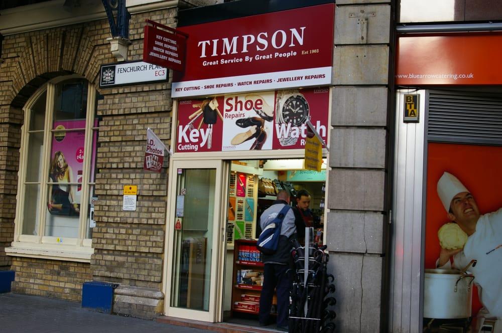 Timpson Shoe Repair Near Me