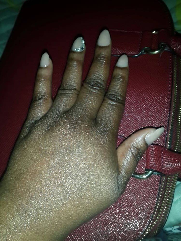 Photo of Sapa Nails - San Antonio, TX, United States. I love my - I Love My Mountain Peak Nail Will A Little Sparkle. David Is Really