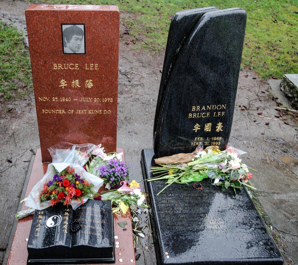 Bruce Lee and Brandon Lee Gravesite: 1554 15th Ave E, Seattle, WA