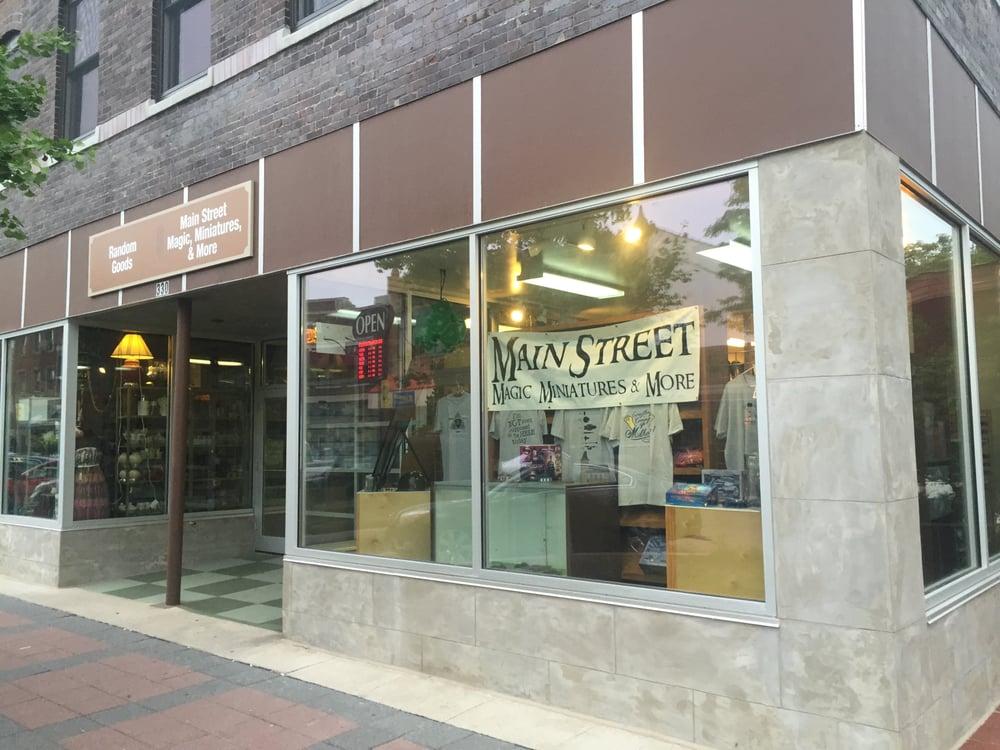 Main Street Magic, Miniatures & More: 330 Main St, Ames, IA