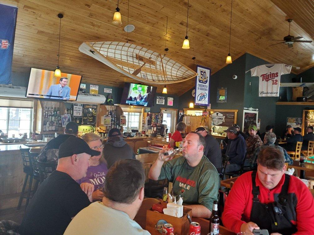 Britt Lounge & Cafe: 7301 Britt Bypass, Britt, MN