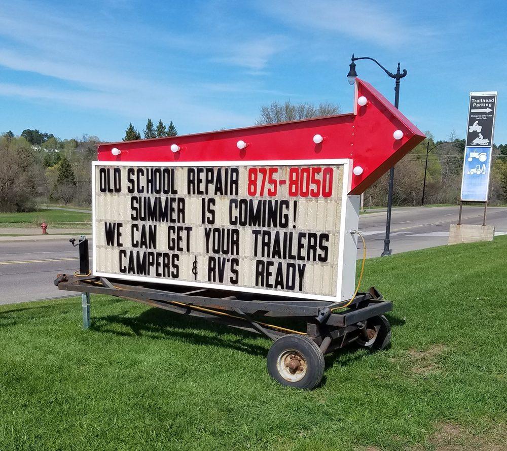 Old School Repair: 11 Superior Ave, Crystal Falls, MI
