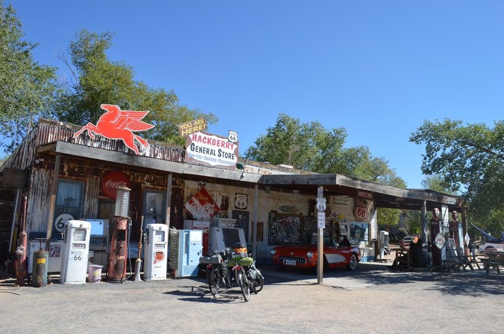 Hackberry General Store: 11255 E Hwy 66, Hackberry, AZ
