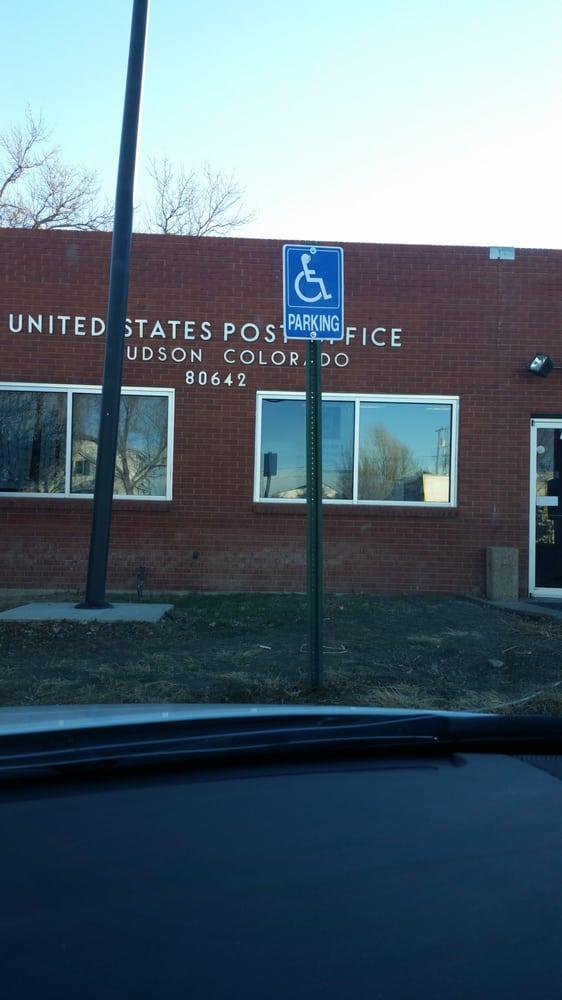 US Post Office: 738 Cedar St, Hudson, CO