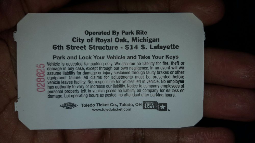 South Lafayette Parking: 514 S Lafayette, Royal Oak, MI