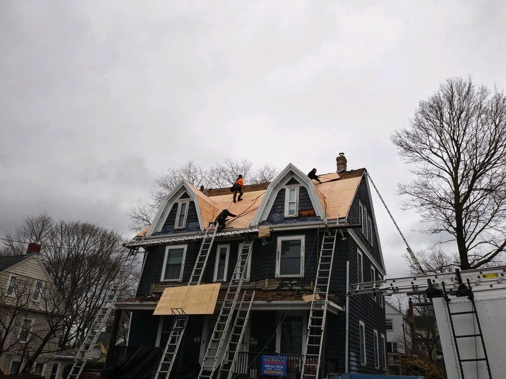 Adam Quenneville Roofing & Siding Greater Boston: 396 Washington St, Wellesley, MA