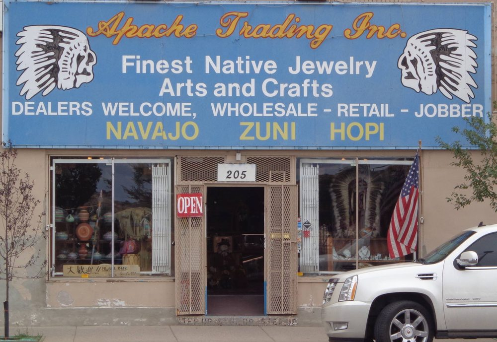 Apache Trading Co: 206 W Hwy 66, Gallup, NM