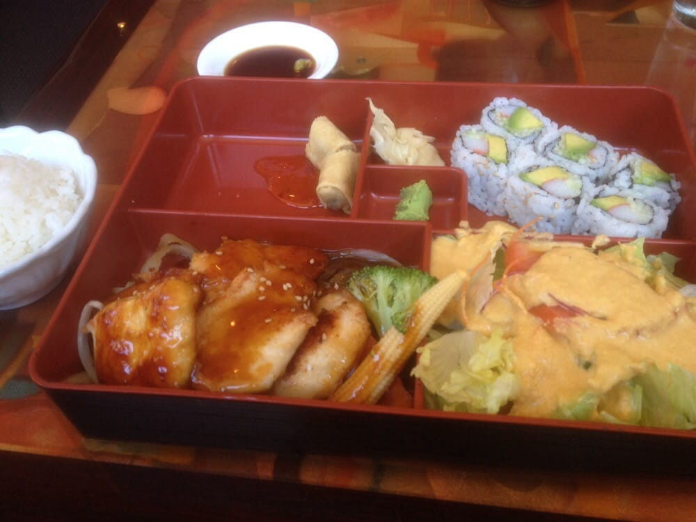 Teriyaki chicken lunch box yelp for Aki japanese cuisine