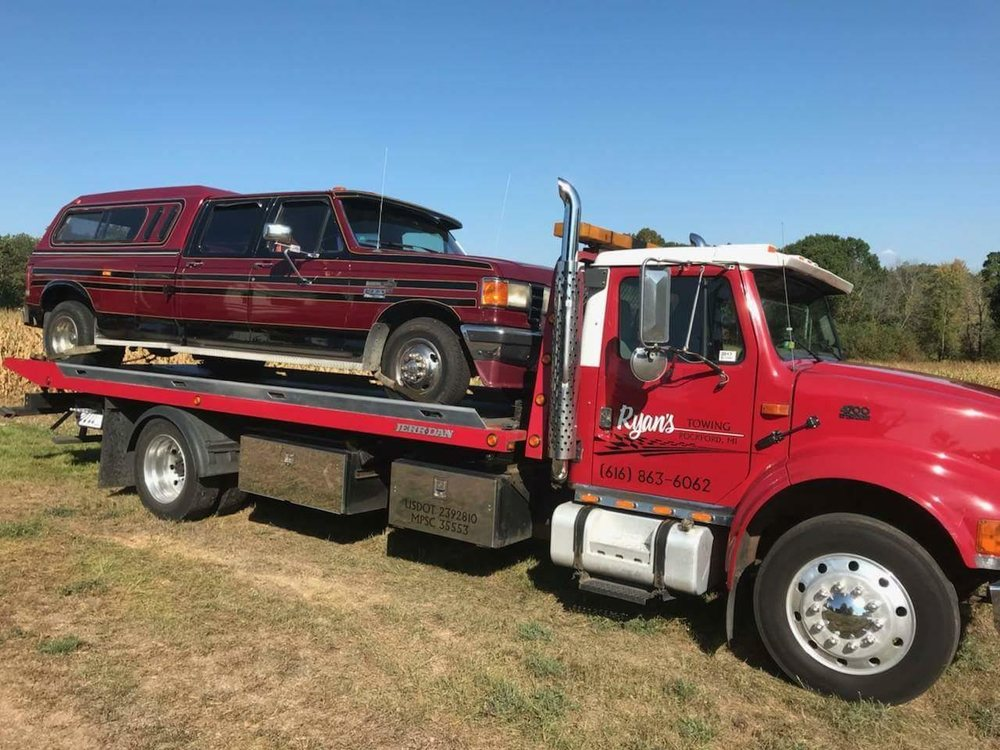 Ryan's Towing: 10849 Northland Dr, Rockford, MI