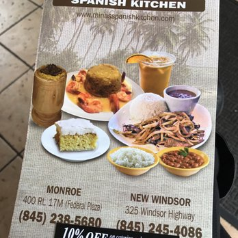 Minas Spanish Kitchen Menu